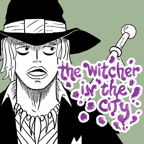 the witcher in the city